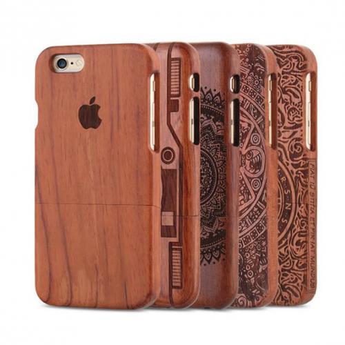 Деревянные чехлы для смартфона