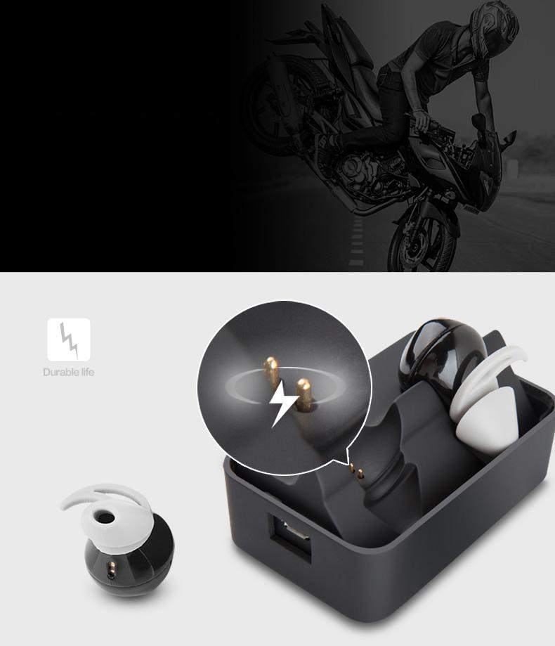 Футляр-станция для Bluetooth стерео наушников