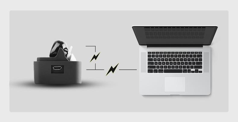 Стерео Bluetooth наушники зарядка от ноутбука