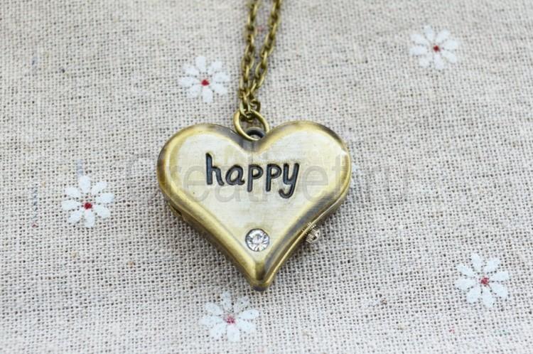 Счастливый кулон сердце