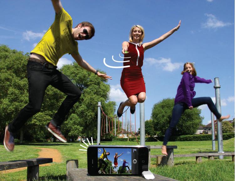 Magic Selfie Ball - устройство для селфи в действии