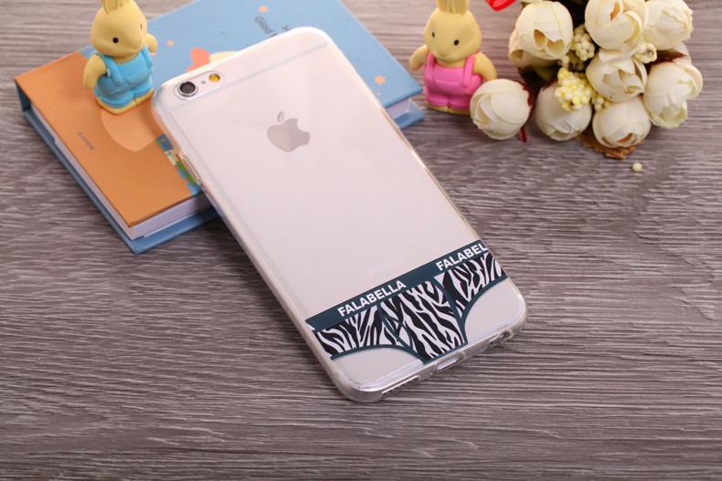 Чехлы трусики для iPhone 6 plus зебра мужские