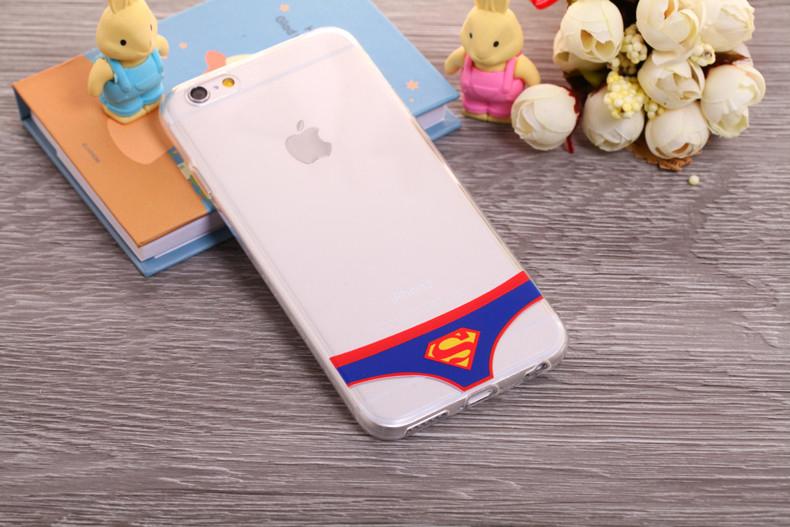 Чехлы трусики для iPhone 6 plus супермен женские