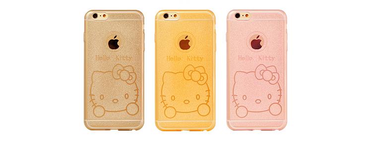 Чехол для iPhone 6, 6plus с иллюстрациями Hello Kitty