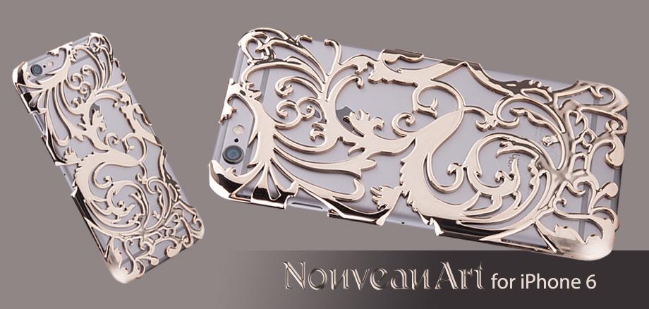 Художественный Nouveau ART iPhone 6 чехол золотой стиль