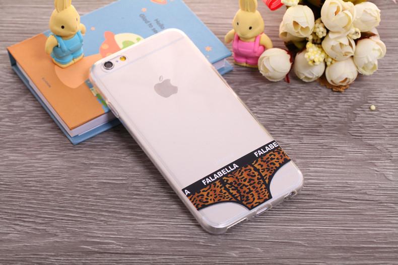 Чехлы трусики для iPhone 6 plus леопардовые мужские