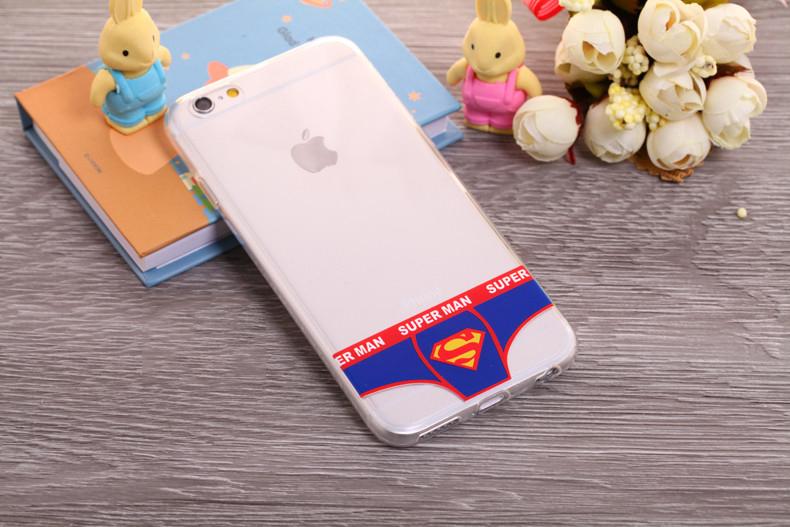 Чехлы трусики для iPhone 6 plus супермен мужские