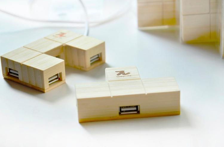 Интересное устройство USB hub для подключения нескольких устройств