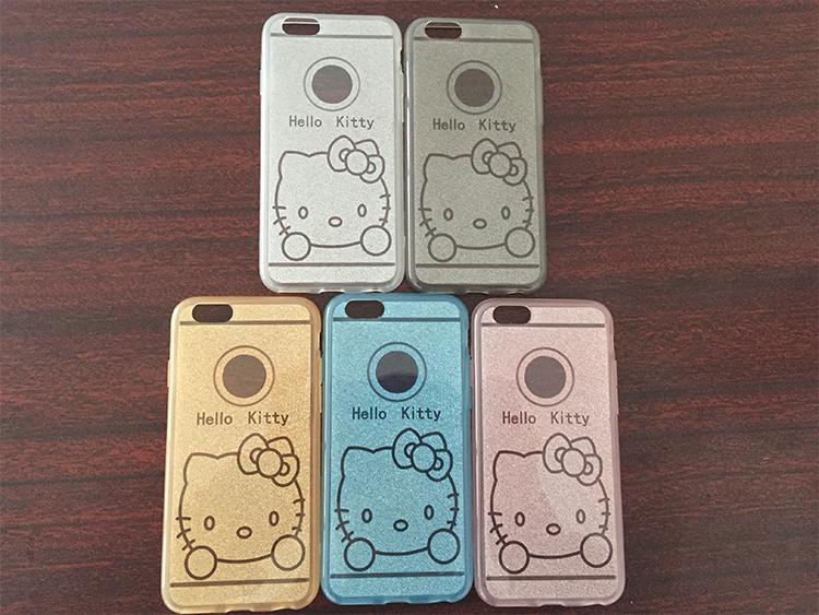 Чехол для iPhone 6, 6plus с иллюстрациями Hello Kitty - сразу несколько вариантов