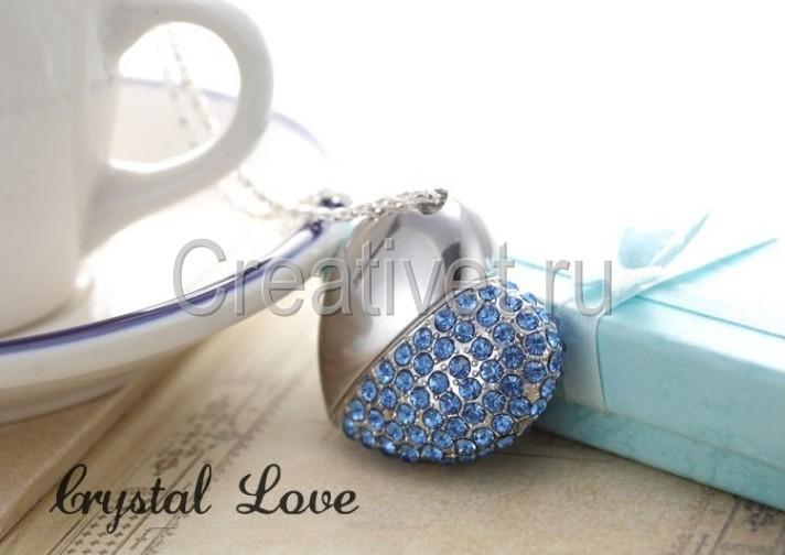 Флешка Кристальная Любовь