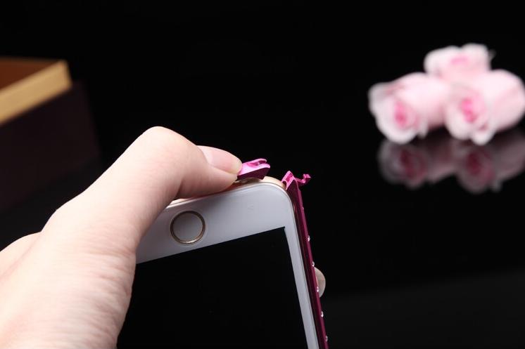Как снимается оболочка для iPhone 6 6 plus 5 со стразами