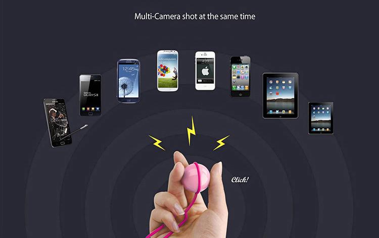 Magic Selfie Ball - устройство для селфи поддерживает мульти-съемку