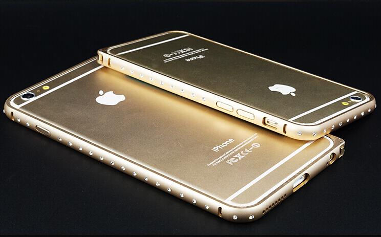 Оболочка для iPhone 6 и iPhone 6 plus золотого цвета
