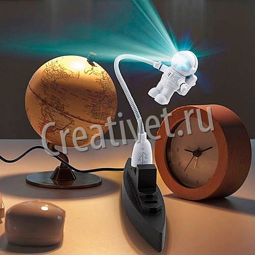 Космический подсвечник для ноутбука