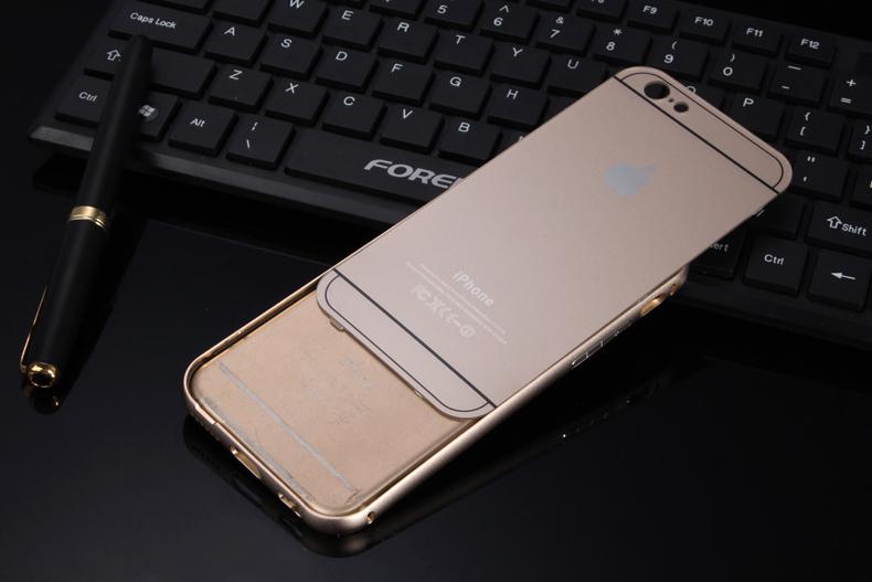 Чехол бампер с крышкой iPhone 5,6 приоткрыта крышка