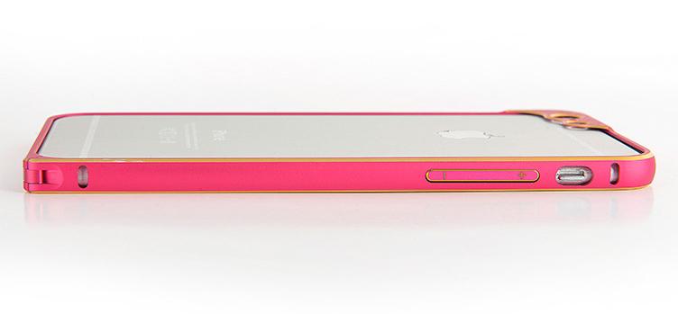 Бампер для iPhone 6 и 6plus с защитой камеры - просмотр в горизонтальном положении