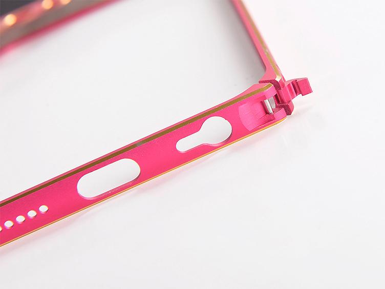 Бампер для iPhone 6 и 6plus с защитой камеры - просмотр области с защелкой