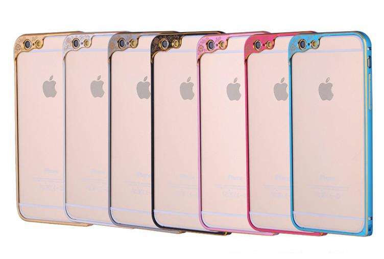 Бампер для iPhone 6 и 6plus с защитой камеры - сразу в нескольких цветах
