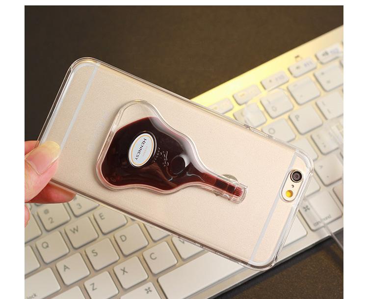 Чехол с переливающейся жидкостью для iPhone Hennesy