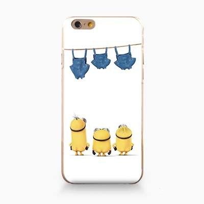 Чехол с маленькими миньонами для iPhone