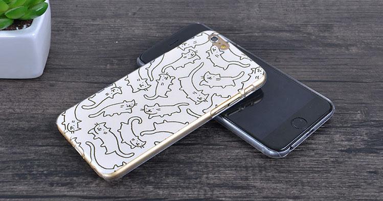 Чехол для iPhone 6 с котятами просмотр