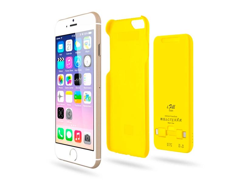 Портативное зарядное устройство и чехол - Power bank для iPhone 6 детали