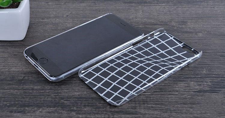 Чехол, создающий эффект выпуклого чехла на iPhone