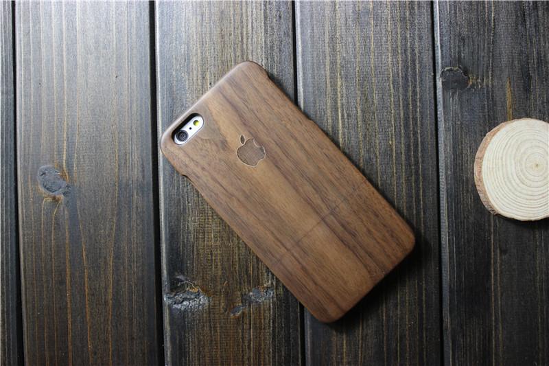 Чехол, состоящий из натурального дерева для iPhone