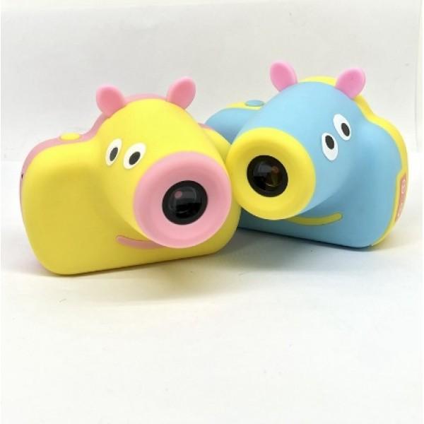 Детский фотоаппарат Свинка Пеппа с функцией фото и видео съемки