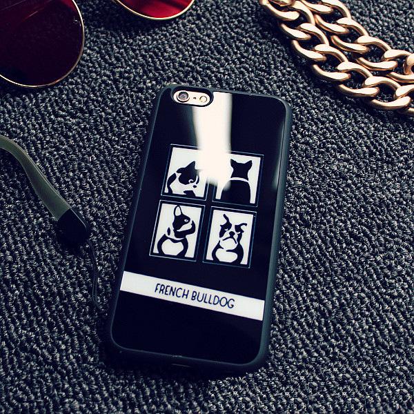 Французский Бульдог чехол для iPhone бульдог в картинках