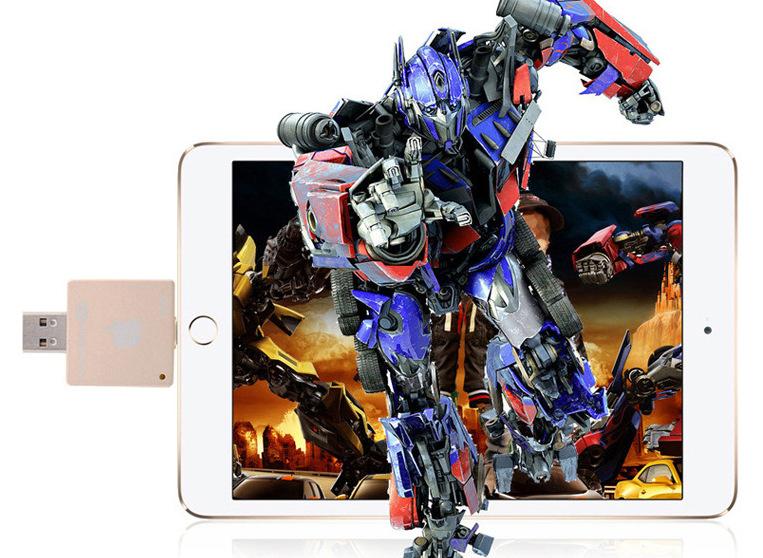 i FlashDrive HD флеш карта для устройств Apple играйте в игры, смотрите фильмы