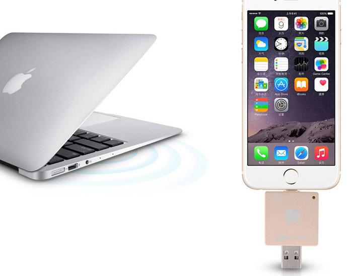 i FlashDrive HD флеш карта для устройств Apple вместе с Mac Book