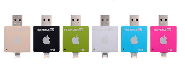 i FlashDrive HD флеш карта для устройств Apple все цвета вместе