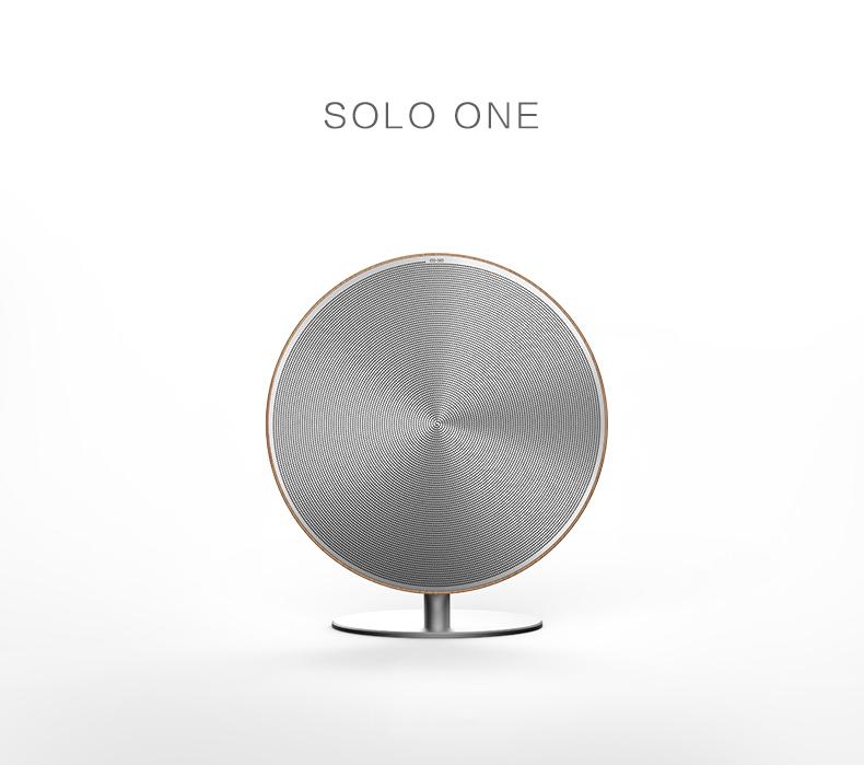 Деревянная Bluetooth колонка Solo One Emie для дома и офиса