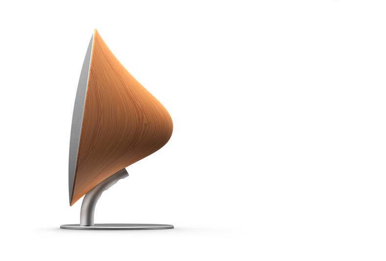 Деревянная Bluetooth колонка Solo One Emie боковой вид