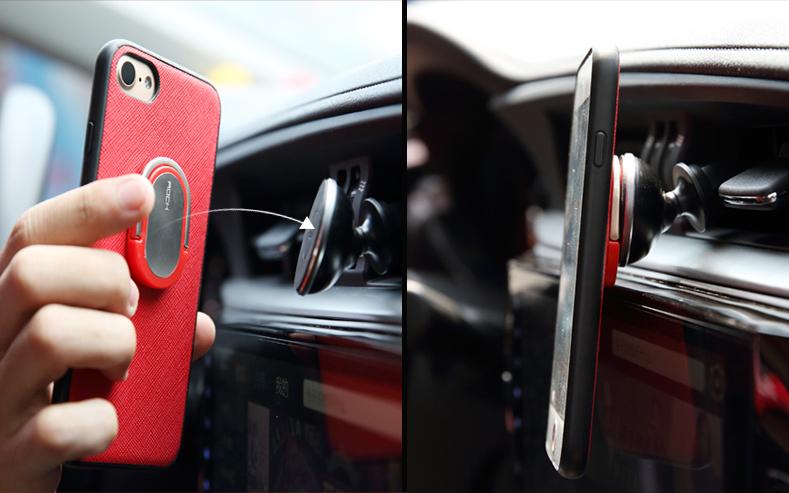 Магнитный чехол для iPhone в автомобиле