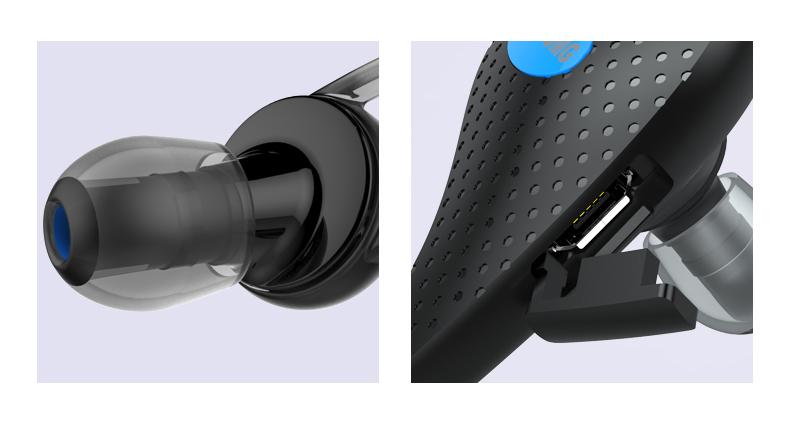 Bluetooth стерео наушники для смартфона с микрофоном близкий просмотр