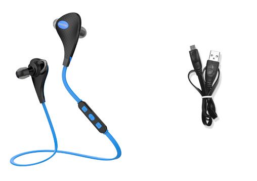 Bluetooth стерео наушники для смартфона с микрофоном комплект