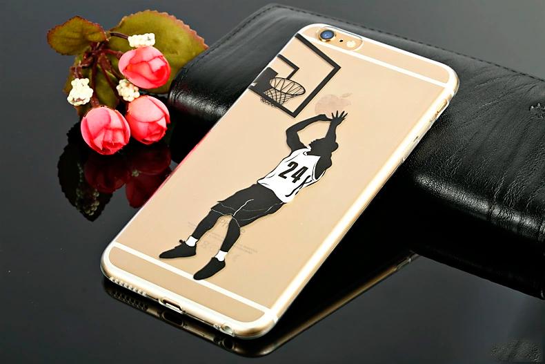 Мультипликационный чехол - баскетболист