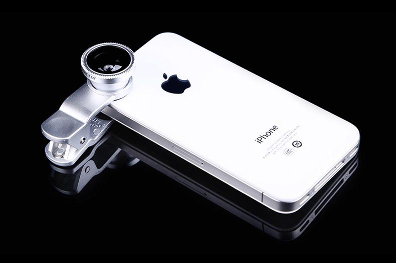 Универсальный объектив для смартфона