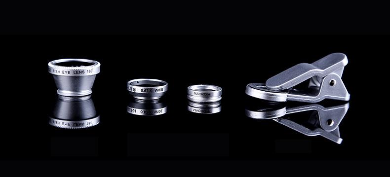 Универсальный объектив для камеры и его составляющие
