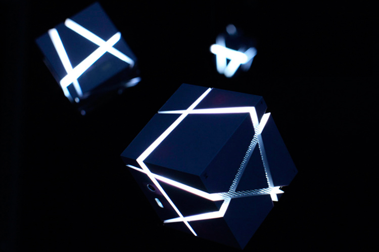 Lofree EDGE bluetooth портативные колонки в ночное время суток