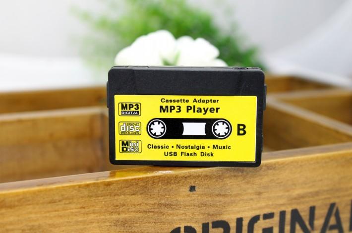 MP3-плеер в виде аудио-кассеты - черный