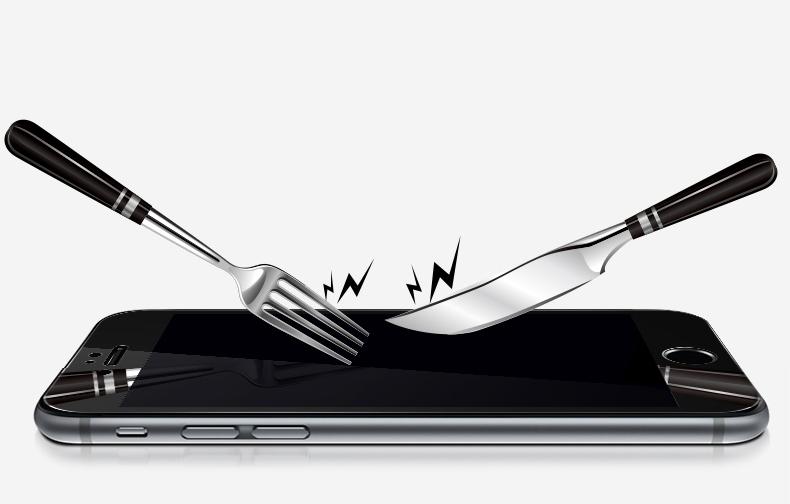 Зеркальный чехол с закаленным покрытием для iPhone не боится царапин