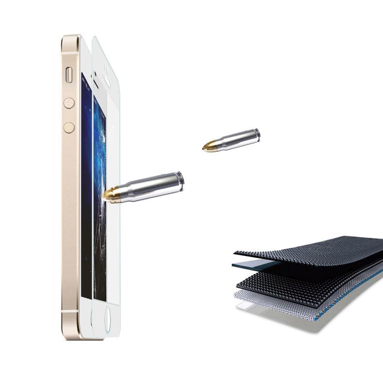 Крепкий зеркальный чехол с закаленным покрытием для iPhone