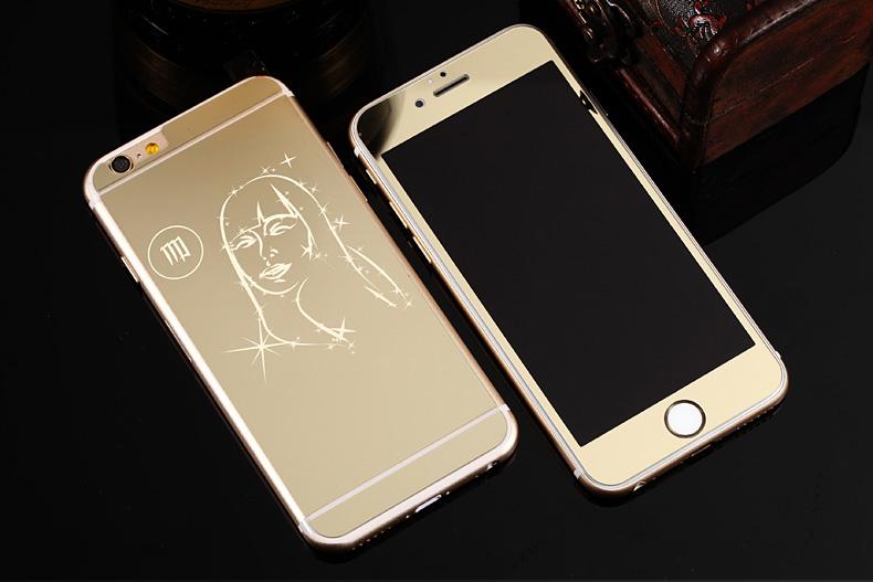 Зеркальный чехол для iPhone 6 знаки зодиака - Дева
