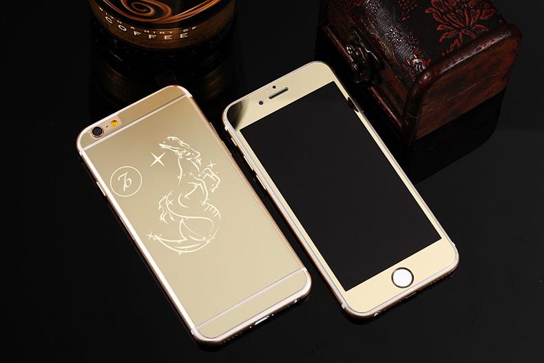 Зеркальный чехол для iPhone 6 знаки зодиака - Козерог