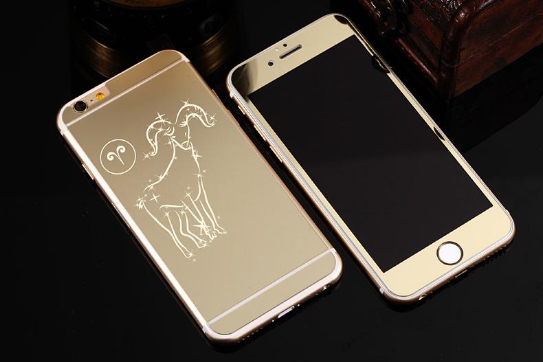 Зеркальный чехол для iPhone 6 знаки зодиака - Овен