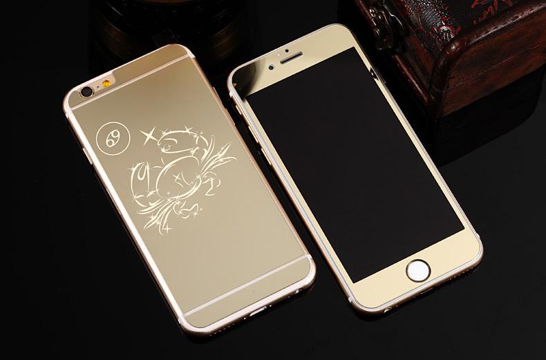 Зеркальный чехол для iPhone 6 знаки зодиака - Рак