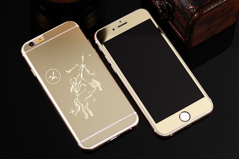 Зеркальный чехол для iPhone 6 знаки зодиака - Стрелец